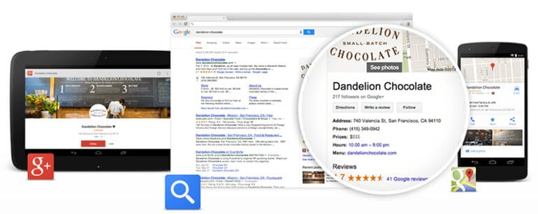 Stand out in search, maps and Google+ with Google My Business